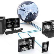 医療画像PACS(画像保管通信システム) / ウェブ上に基盤 / 医療用 / 動物用