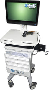 医療シミュレーション用自動分配カート