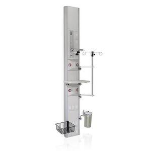 壁取り付け式べッドのヘッドユニット / 垂直 / ライト付き / スマ-ト