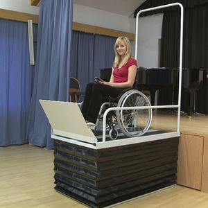 車椅子用昇降式プラットホーム