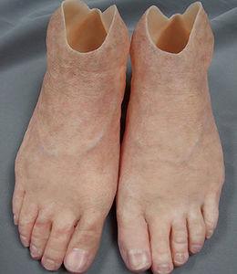 脚美容人口装具