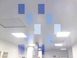 クリーンルーム用モジュール式天井