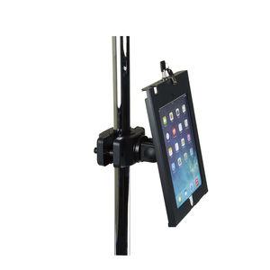 柱上タブレットPCサポートアーム / 医療用 / 高さ調節可能 / ロック可能