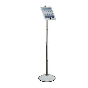 自立型タブレットPCサポートアーム / 医療用 / 高さ調節可能 / ロック可能