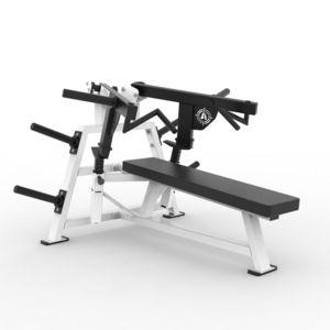 フラットチェストプレス筋力トレーニングマシン