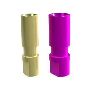 チタン製アナログ歯科インプラント