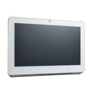 タッチスクリーン患者マルチメディア端末 / バーコードスキャナー付 / カードリーダー付き
