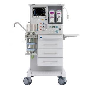 小児麻酔ワークステーション / 台車上 / 呼吸モニタ / 電気ガス混合器付