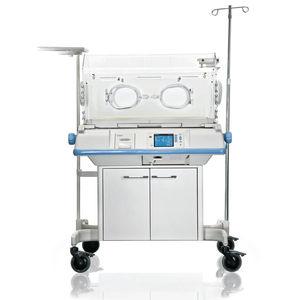 キャスター付き新生児保育器