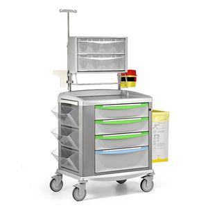 移送用トロリー / 貯蔵 / 薬剤用 / 引き出し4段式