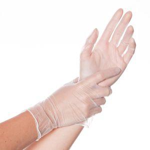ビニール製手袋