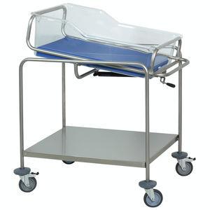 逆トレンデレンブルグ体位病院用バシネット