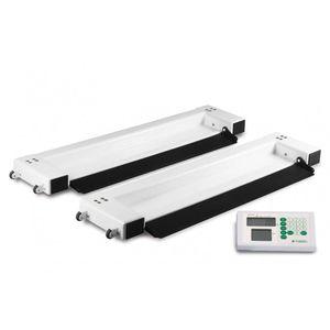 電動ベッド用秤 / デジタルディスプレイ付き / プラットフォーム / 携帯用