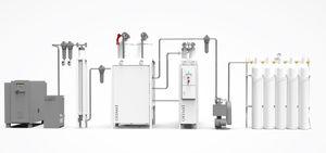 モジュール式酸素発生器 / 圧力変動吸着方式
