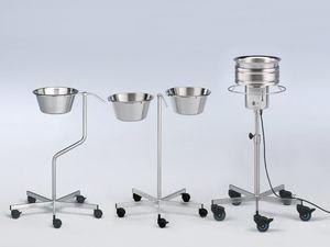 ステンレススチール製洗面器スタンド