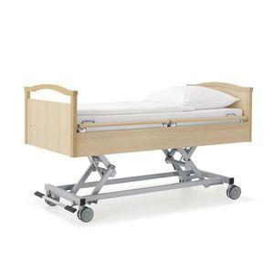 医療ベッド / 老人ホーム用 / 電動 / 高さ調節可能