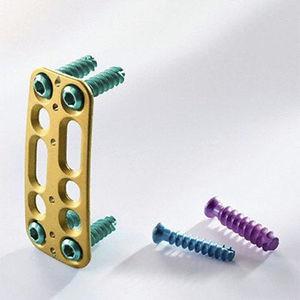 頸椎関節固定プレート / 前方