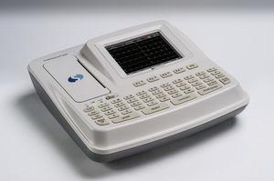 6チャネル心電計 / デジタル / プリンター付き / スクリーン付き