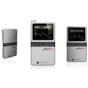 SpO2バイタルサイン モニター / ECG / 歩行用 / 手持ち式