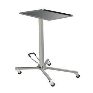 高さ調整可能メイヨーテーブル / キャスター付き / ステンレススチール製