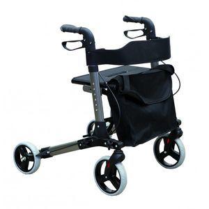 4つ歩行器 / 椅子付き / 高さ調整可能