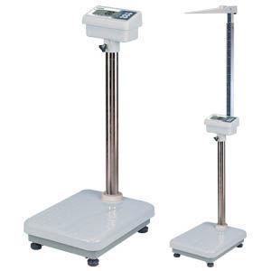 電子体重計 / LCD ディスプレイ付き / コラム / BMI計算付