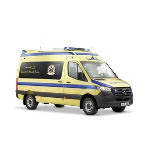 ワゴン車タイプ救急車