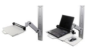 高さ調節可能ラップトップサポートアーム