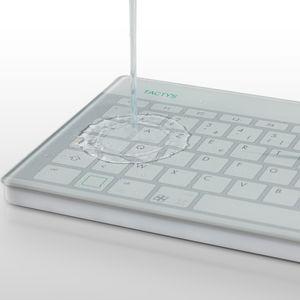 ガラス医療用キーボード / テンキー / 洗える / 消毒可能