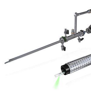 膀胱鏡 / レーザー用光ファイバー付 / 直角