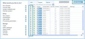 分析ソフトウェアモジュール / ヴィジュアリゼーション用 / リポーティング用 / 検出用
