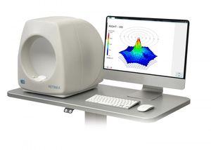 電子眼球運動記録機能付電位網膜計