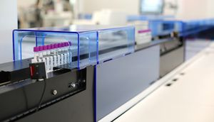 血液分析装置用研究室用オートマトン