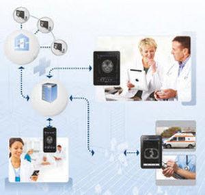 PACS(画像保管通信システム)用iOS アプリケーション
