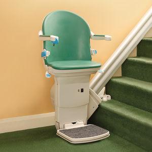 ストレート型階段用階段昇降機