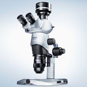実験用ステレオ顕微鏡 / デジタル / 三眼 / 暗視野式
