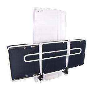 電動シャワー用担架 / 壁上 / 高さ調整可能