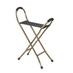 椅子付き歩行杖 / 折り畳み式