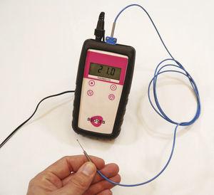 動物研究用体温計 / 齧歯類 / 電子 / 熱電対