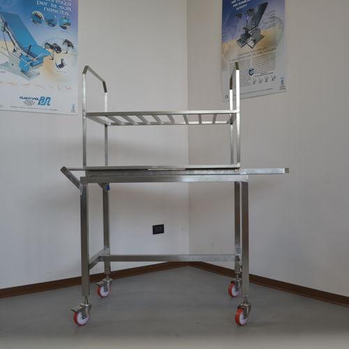 滅菌トロリー / 無菌室用 / 移送用 / 貯蔵