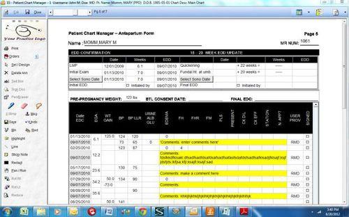 産婦人科検査用ソフトウェアモジュール / 管理用 / 診断 / 分配用