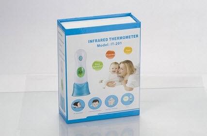 小児体温計 / 赤外線 / 前頭 / 鼓膜用
