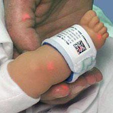 乳児用認証ブレスレット