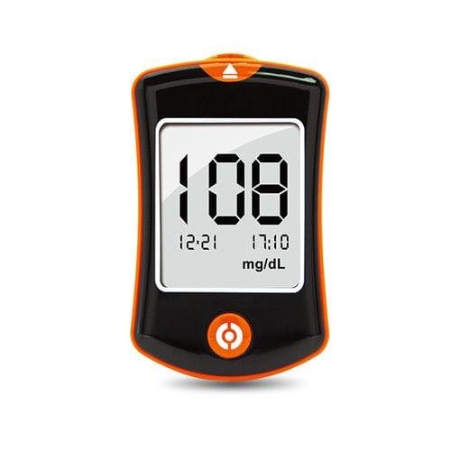 穿刺器具付き血糖測定器