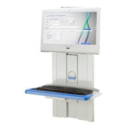 医療コンピューターワークステーション / 壁掛け式 / 高さ調整可能
