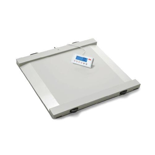 電動体重プラットフォーム / 車椅子用 / デジタルディスプレイ付き / BMI計算付