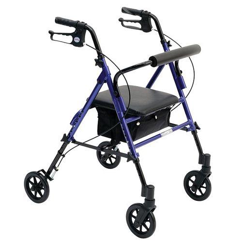 4つ歩行器 / かご付き / 高さ調整可能 / 折り畳み可能