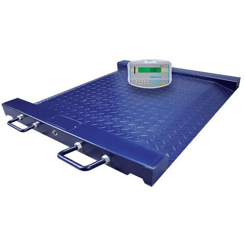電動体重プラットフォーム / 車椅子用 / デジタルディスプレイ付き / 独立型インジケーター付