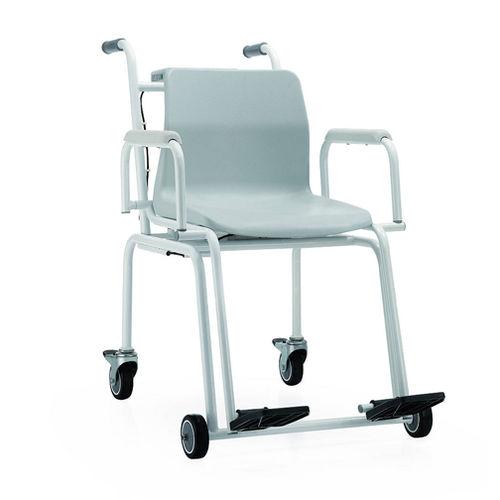 電動体重計 / 車椅子用 / LCD ディスプレイ付き / アームチェア