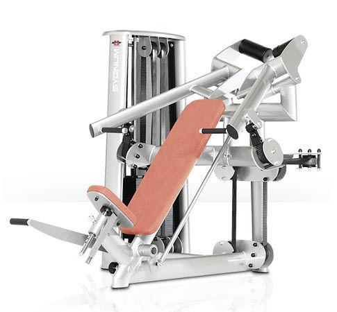 傾斜チェストプレス筋力トレーニングマシン